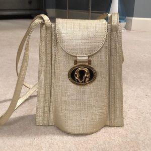 Handbags - Gold Shoulder Handbag